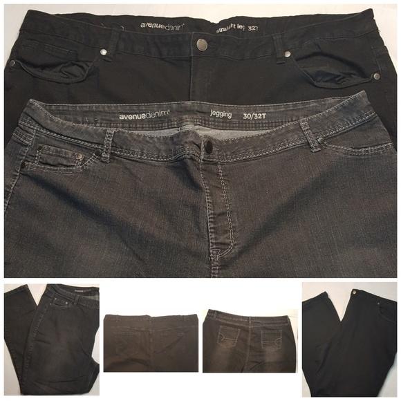 d5b5c70291 Avenue Denim Jeans | Womens Jean Pants Sz 3032 Tall 2 | Poshmark